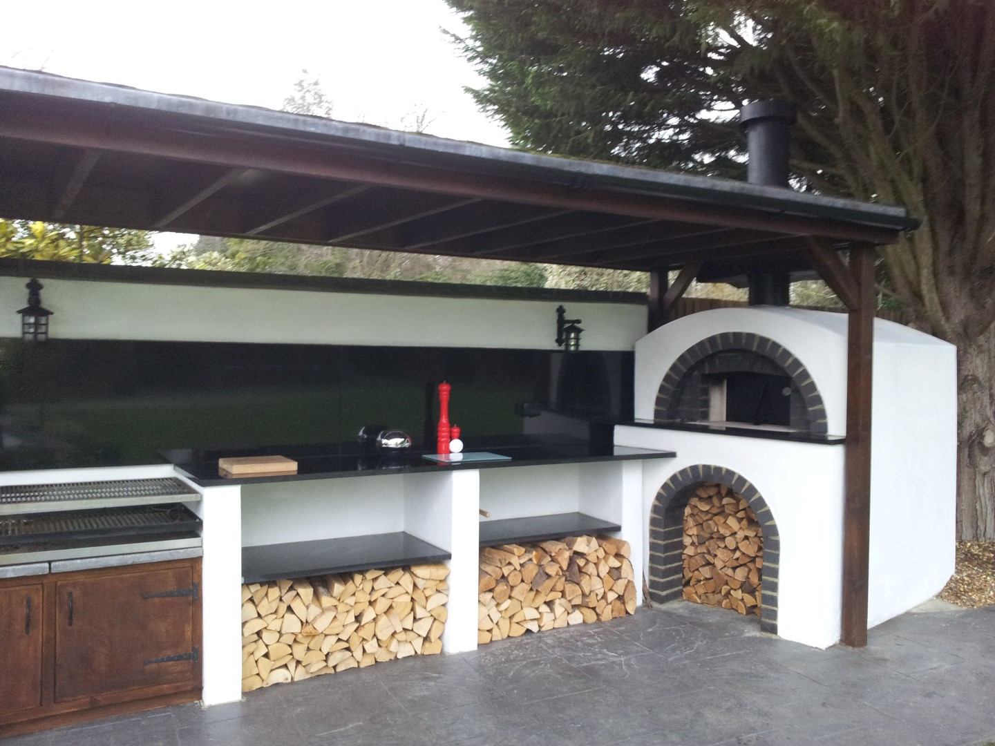 The Outdoor Oven U2013 Finished!