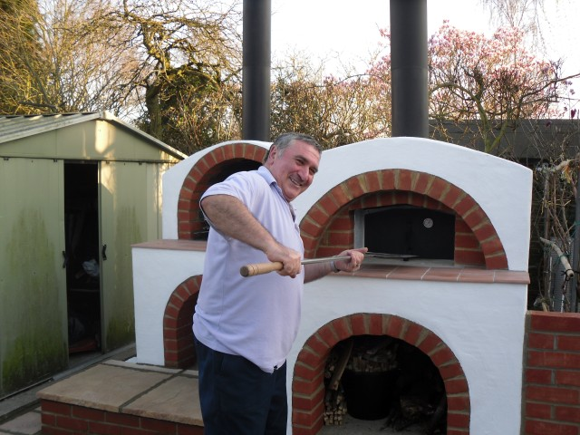 Authentic Wood Fired Pizza Oven Builds In Surrey