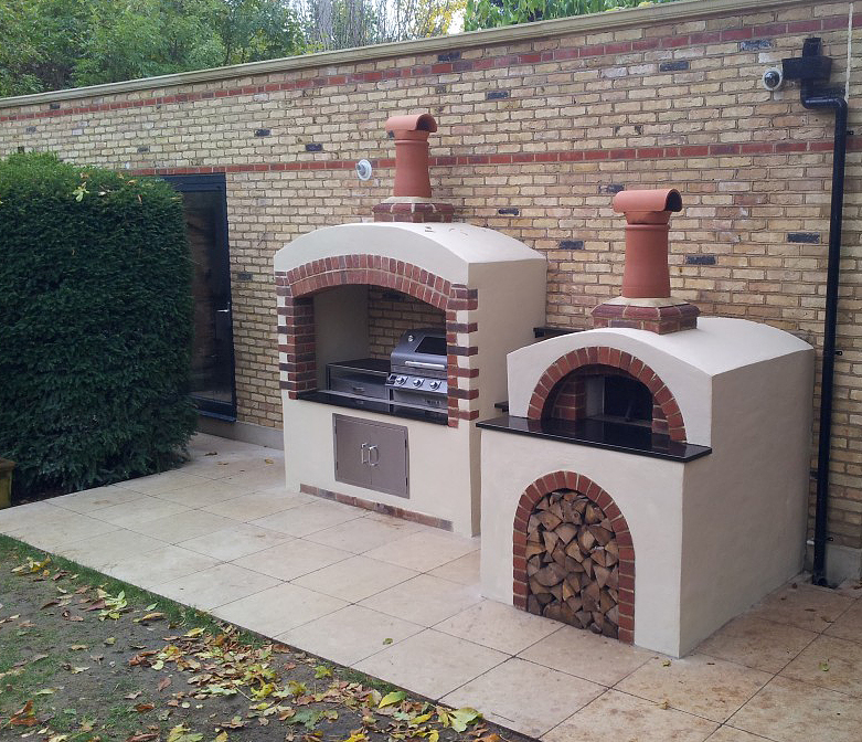 Kitchen Garden November: Authentic Wood Fired Pizza Oven Builds In Surrey